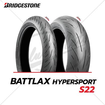 120/70 ZR17+160/60 ZR17 BATTLAX HYPERSPORT S22 BRIDGESTONE