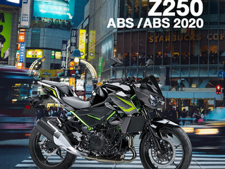PROMOTION : Z250 ABS / SL / ABS 2020