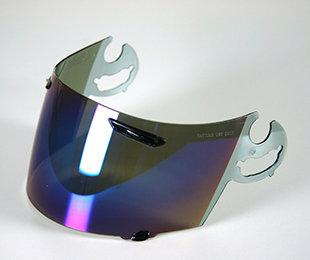 Arai Shield Mirror Purple RX-7 RR5, ASTRO-IQ, QUANTUM-J, RAPIDE