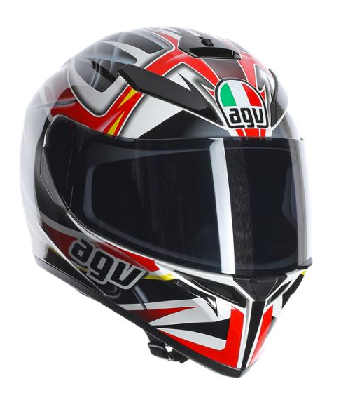 AGV K3-SV RAV (Black/White/Red)