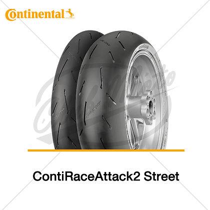 120/70ZR17 + 200/55ZR17 ContiRaceAttack 2 Street CONTINENTAL
