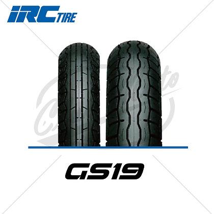 100/90-18 + 130/80-18 GS19 IRC TIRE