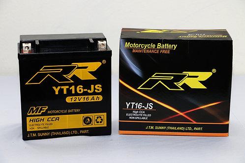 แบตเตอรี่ YT16-JS BATTERY RR