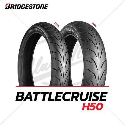 120/70 ZR18 + 160/70 B17 BATTLACRUISE H50 BRIDGESTONE