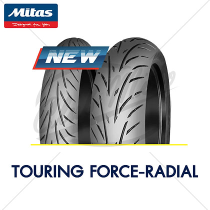 120/70ZR17 + 190/55ZR17 TOURING FORCE-RADIAL MITAS
