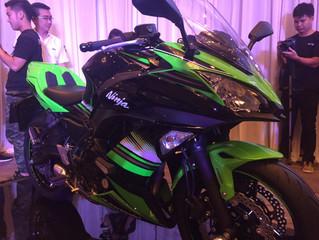 All New 2017 Kawasaki Ninja 650  น้ำหนักเบา ปราดเปรียวเต็มสมรถนะสปอร์ต