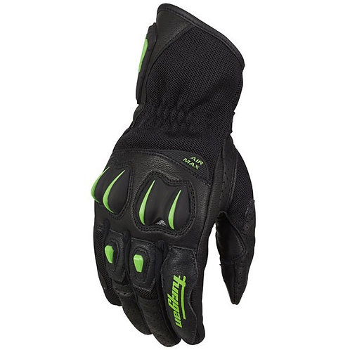 Furygan 4351 Aero Black-Fluo-Green