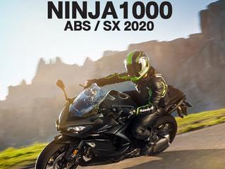 PROMOTION : NINJA1000 ABS / SX 2020
