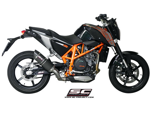 SC-PROJECT Oval silencer KTM DUKE690
