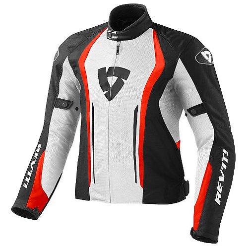 Revit Raceway Jacket Black-White
