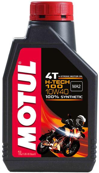 10W40 100% SYNTHETIC H-TECH 100 4T