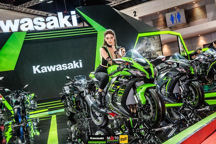 บูธ Kawasaki งาน Motor Show 2019            + Promotion