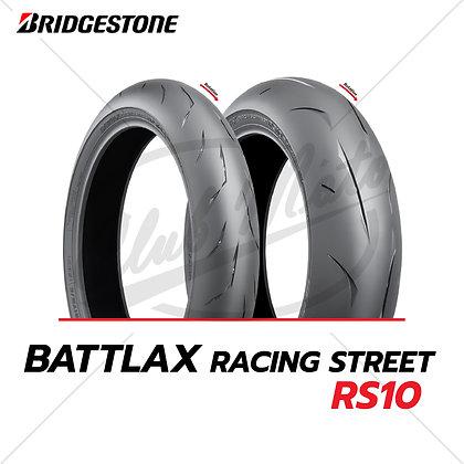 110/70R17 + 140/70R17 BATTLAX RACING STREET RS10 BRIDGESTONE