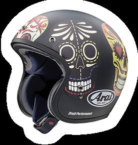 Arai Freeway Classic Skull