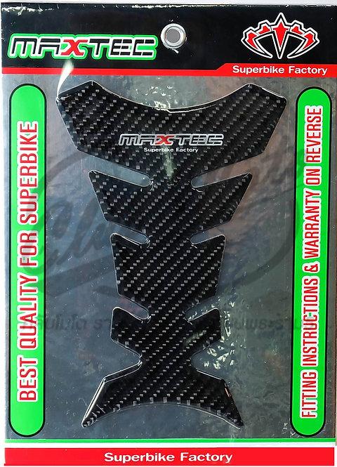 สติ๊กเกอร์ถัง MAXTEC pure carbon (แพคเกจเขียวดำ)