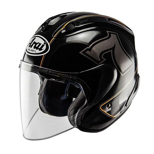 Arai SZ-RAM X Café-Racer Black