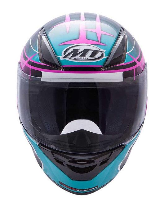 MT Revenge Replica GP - Turquoise Dark Pink Black