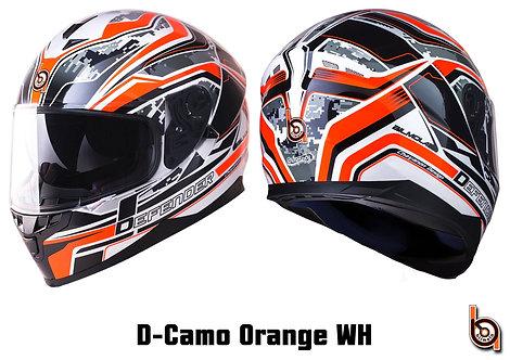Bilmola Defender D-Camo Orange / White