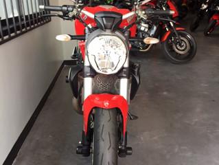 [NEW!]DUCATI Monster1200 สีแดง ปี2015 วิ่ง21,xxxโล สภาพสวยเดิมๆ ราคาเบาๆ พร้อมจัดไฟแนนซ์