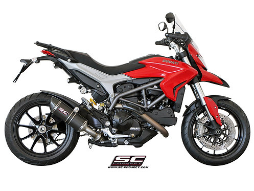 SC-PROJECT OVAL SILENCER - LOW POSITION Ducati Hypermotard 821