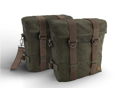 กระเป๋าผ้าคู่ลายทหาร