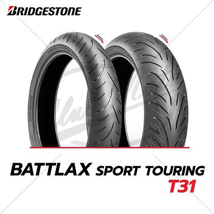 120/70ZR17 + 180/55ZR17 BATTLAX SPORT TOURING T31 [ GT ] BRIDGESTONE