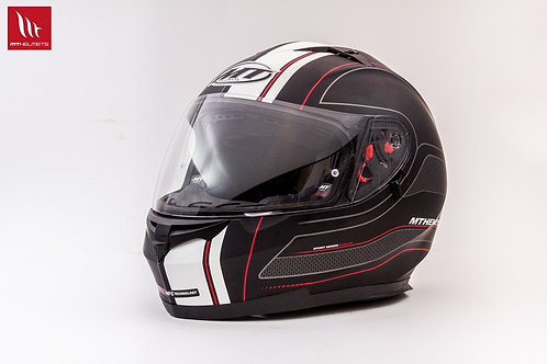 MT Blade SV Raceline Matt Black Red