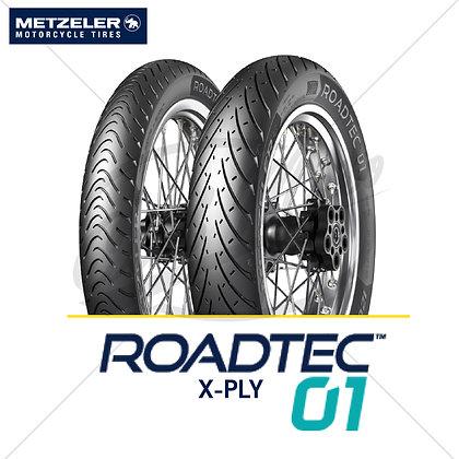 110/70-17 + 150/70-17 ROADTEC™ 01 X-PLY METZELER