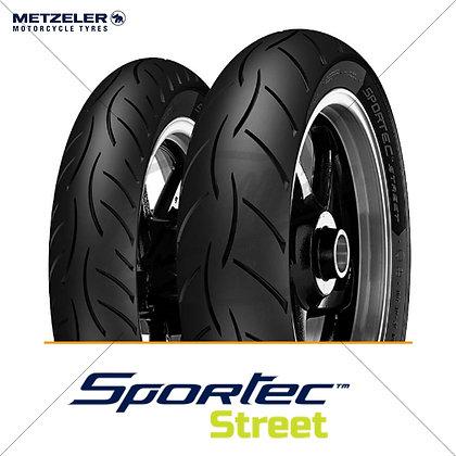 100/80-17 + 130/70-17 SPORTEC™ STREET METZELER