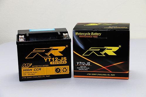 แบตเตอรี่ YT12-JS   BATTERY RR