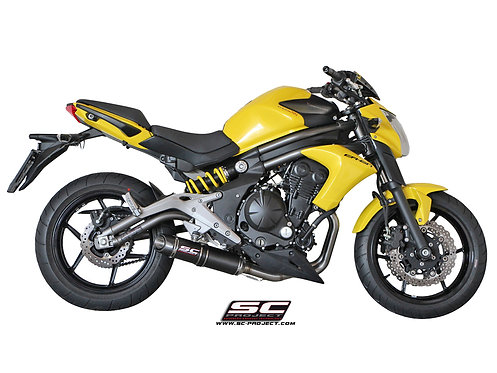 SC-PROJECT FULL SYSTEM 2-1 with OVAL SILENCER KAWASAKI ER6n