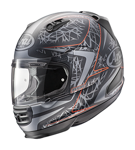 Arai REBEL Sting Frost Red