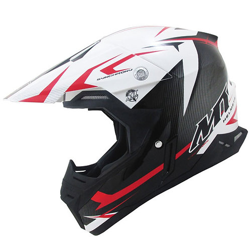 MT Synchrony Steel - Black - White - Red