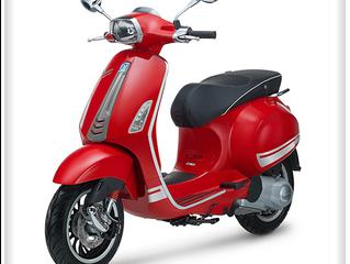 Vespa Sprint 150 3vie Matt / Rossa