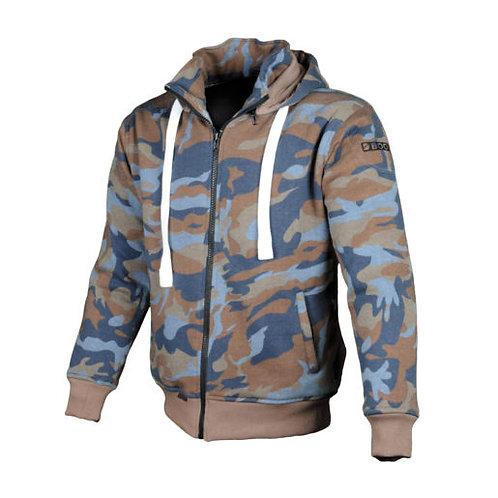 เสื้อฮู้ดมีการ์ด / Booster Hoodie Color : CAMO BROWN