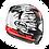 Thumbnail: Arai REBEL Splash Red