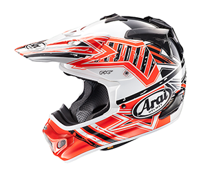 Arai MX-V STRA ORANGE