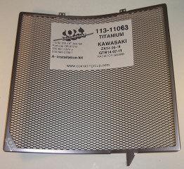 การดหม้อน้ำ COX Titanium ZX14R