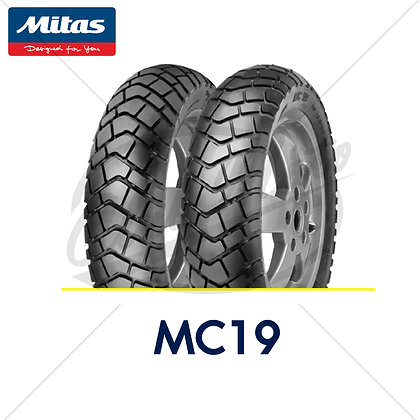 120/80-12 + 130/80-12 MC19 MITAS