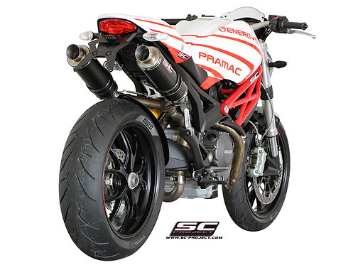 SC-PROJECT GP SILENCERS Ducati Monster 795-796