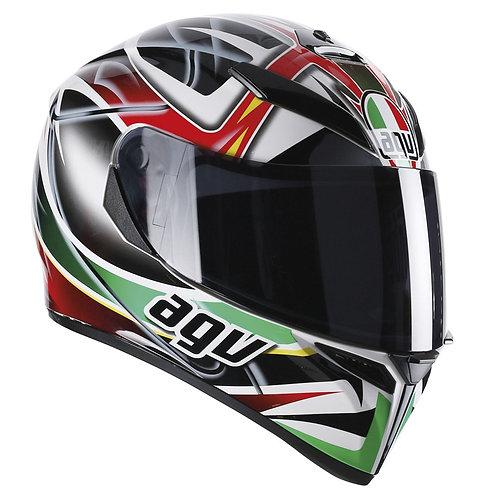 AGV K3-SV RAV (Black/White/Red/Green)