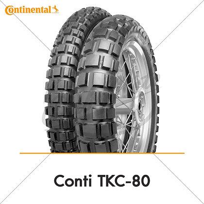 120/70-17 + 180/55-17 TKC80 Twinduro CONTINENTAL