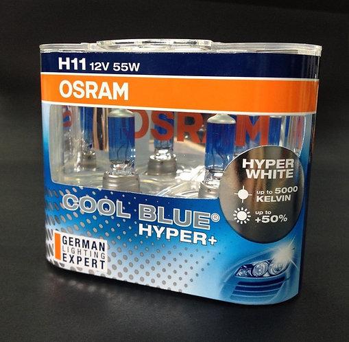 หลอดไฟ OSRAM H11 cool blue hyper