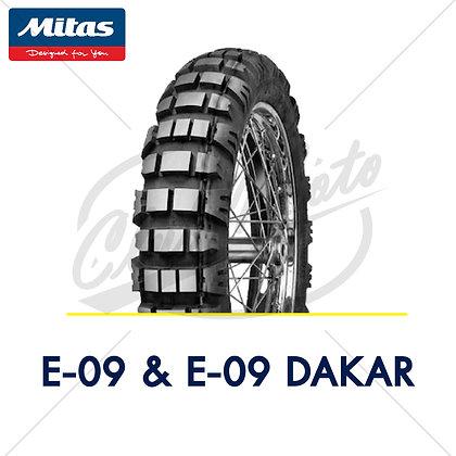 90/90-21 + 120/90-17 E-07 & E-01 DAKAR MITAS