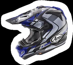 Arai MX-V BOGLE BLUE