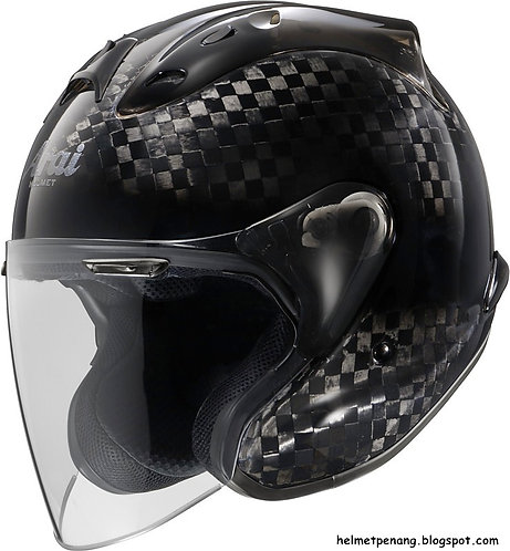 Arai MZ-RC Carbon Black