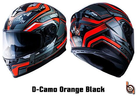 Bilmola Defender D-Camo Orange / Black