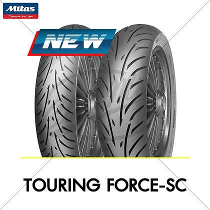 120/70-12 + 130/70-12 TOURING FORCE-SC MITAS