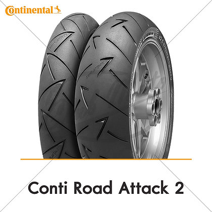 120/70ZR17 + 180/55ZR17 ROAD ATTACK 2 CONTINENTAL
