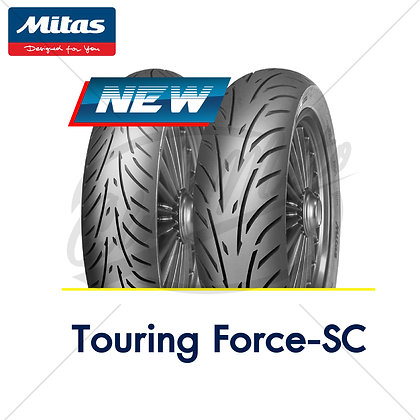 120/70-15 + 140/70-14 TOURING FORCE-SC MITAS